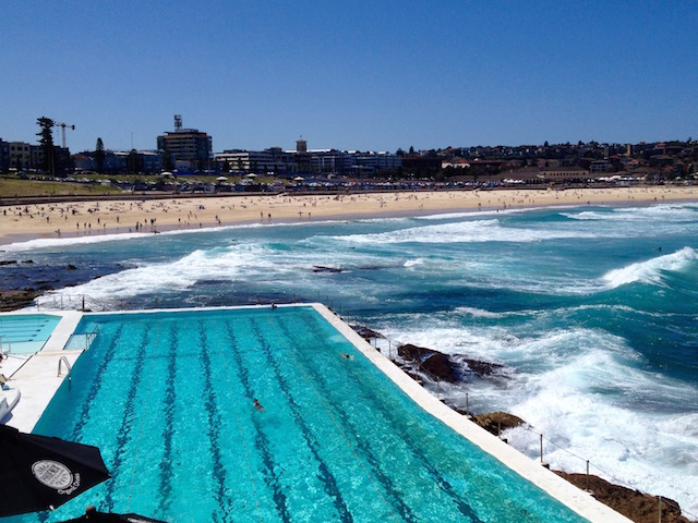 Bondi Beach and Icebergs Pool