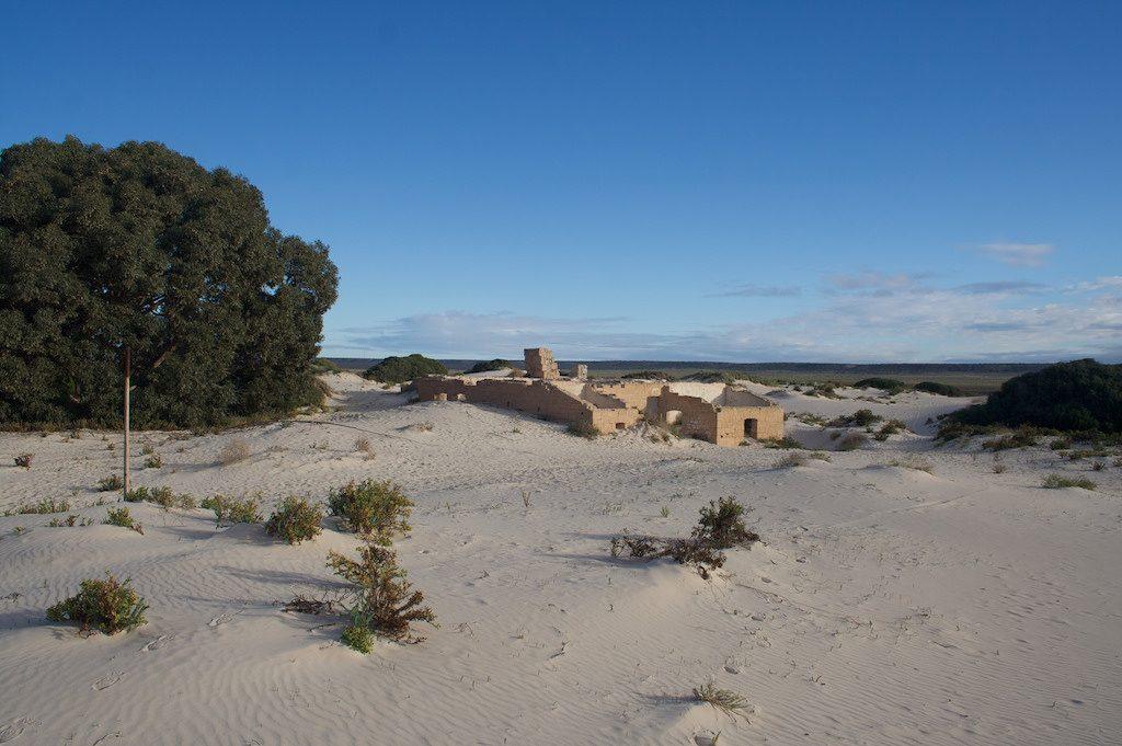 Nullarbor Eucla Ruins