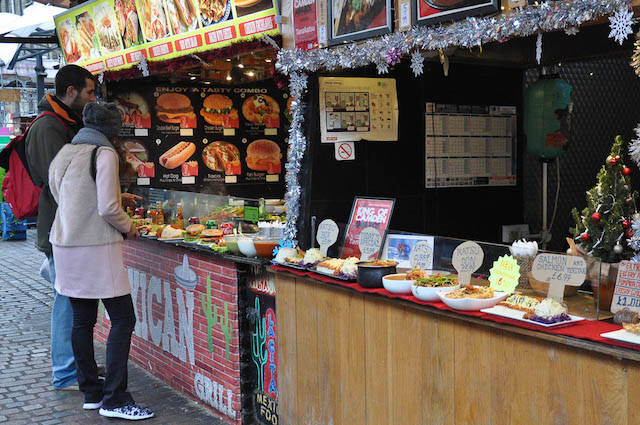 Cheap Eats in London: Stables Market in Camden Town