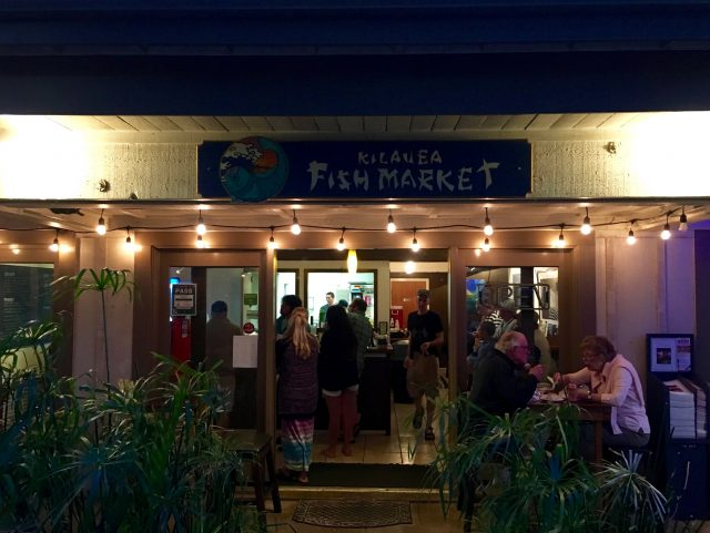 Kilauea Fish Market, Kauai