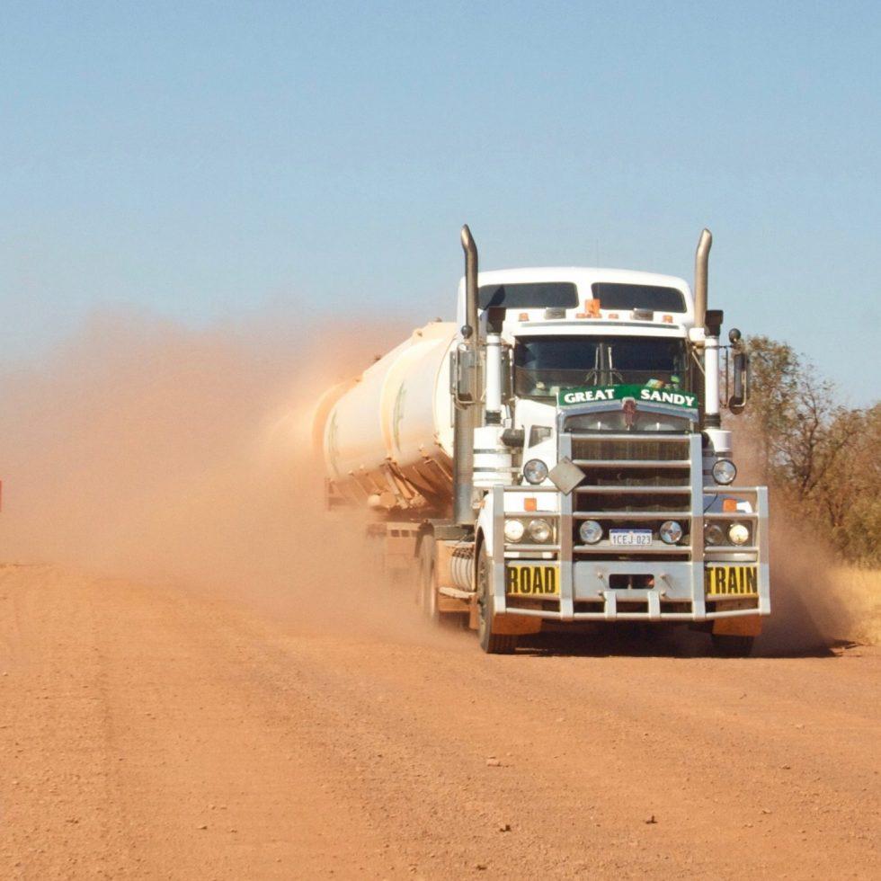 Western Australia Road Train