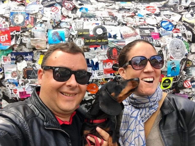 Camden Markets with a Dog