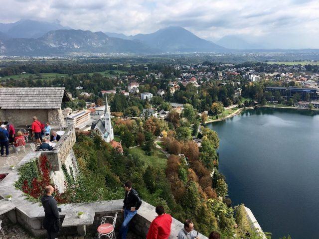 Bled Castle View