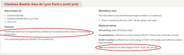 Hotels.com - Small Print