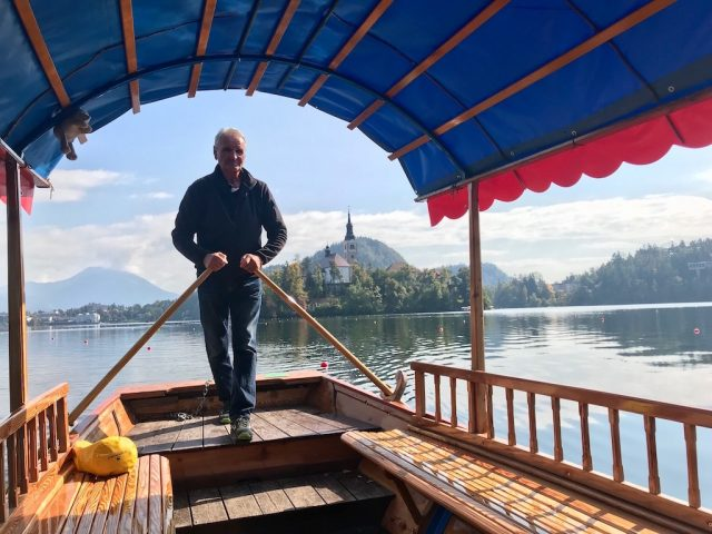 Pletna on Lake Bled