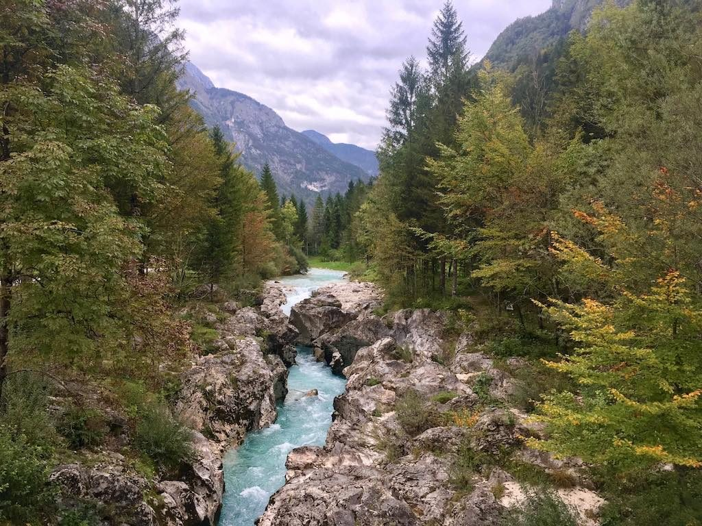 What to do at Lake Bled: Day trip to Soca River Valley