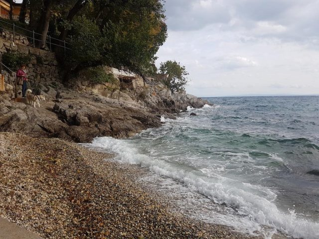 Dog-friendly Opatija beach