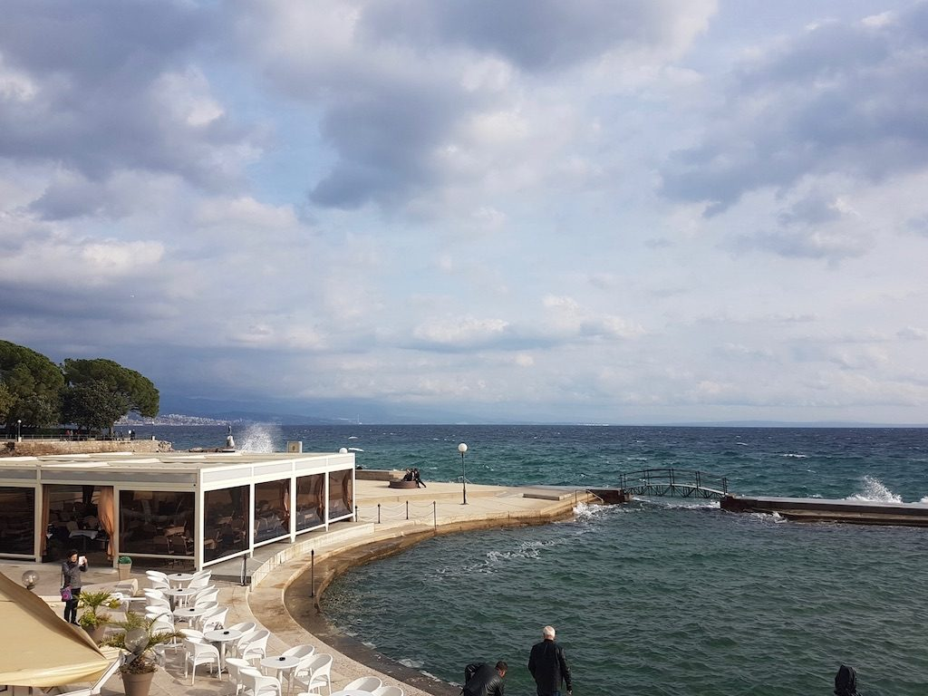 Opatija things to do: The Lungomare Promenade