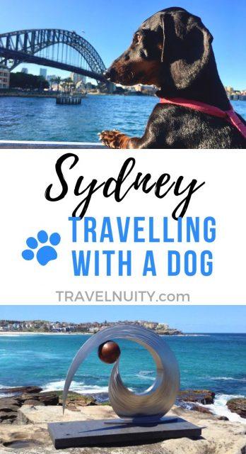 Sydney Dog-Friendly Travel pin