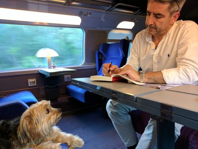 Dogs on SNCF