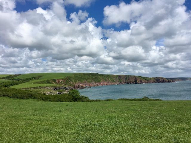 Things to do in Wales: Barafundle Bay