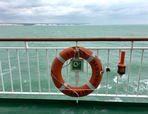 DFDS Ferry Dieppe to Newhaven with a Dog