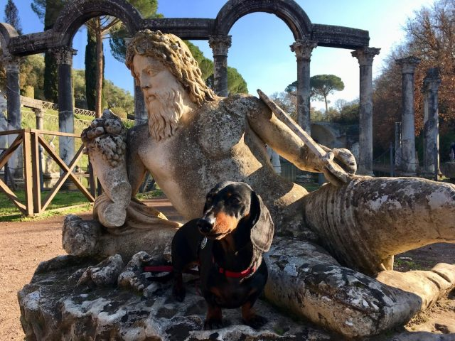 Dog-friendly archaeological sites in Italy
