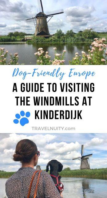 Visiting Kinderdijk pin