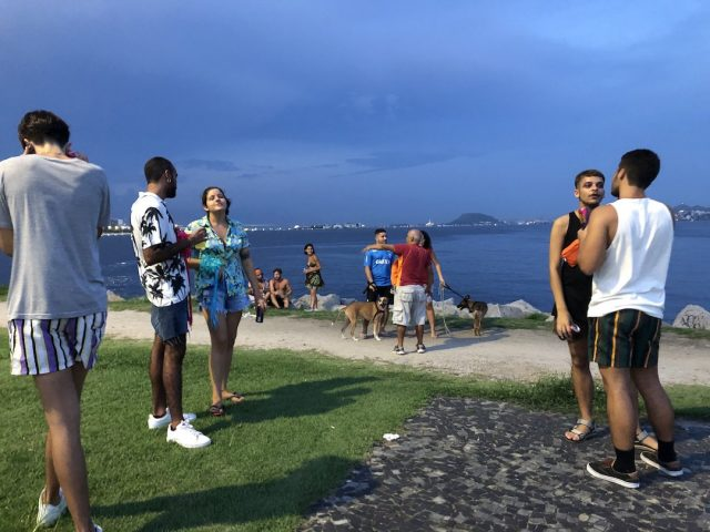 Dogs at the Aterro