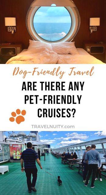 Pet-friendly cruises pin